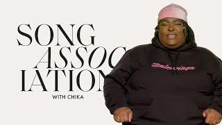 CHIKA Sings Daniel Caesar, Rihanna, Drake, and Mac Miller, in a Game of Song Association | ELLE