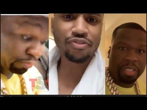 Trey Songz Scares 50 Cent, 50 Cent Breaks Bro Code & REVEALS Trey's Hotel Room Full Of Baddies