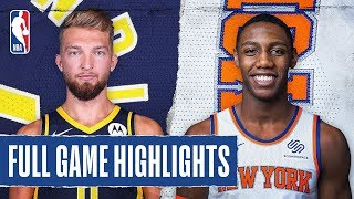 PACERS at KNICKS   FULL GAME HIGHLIGHTS   February 21, 2020