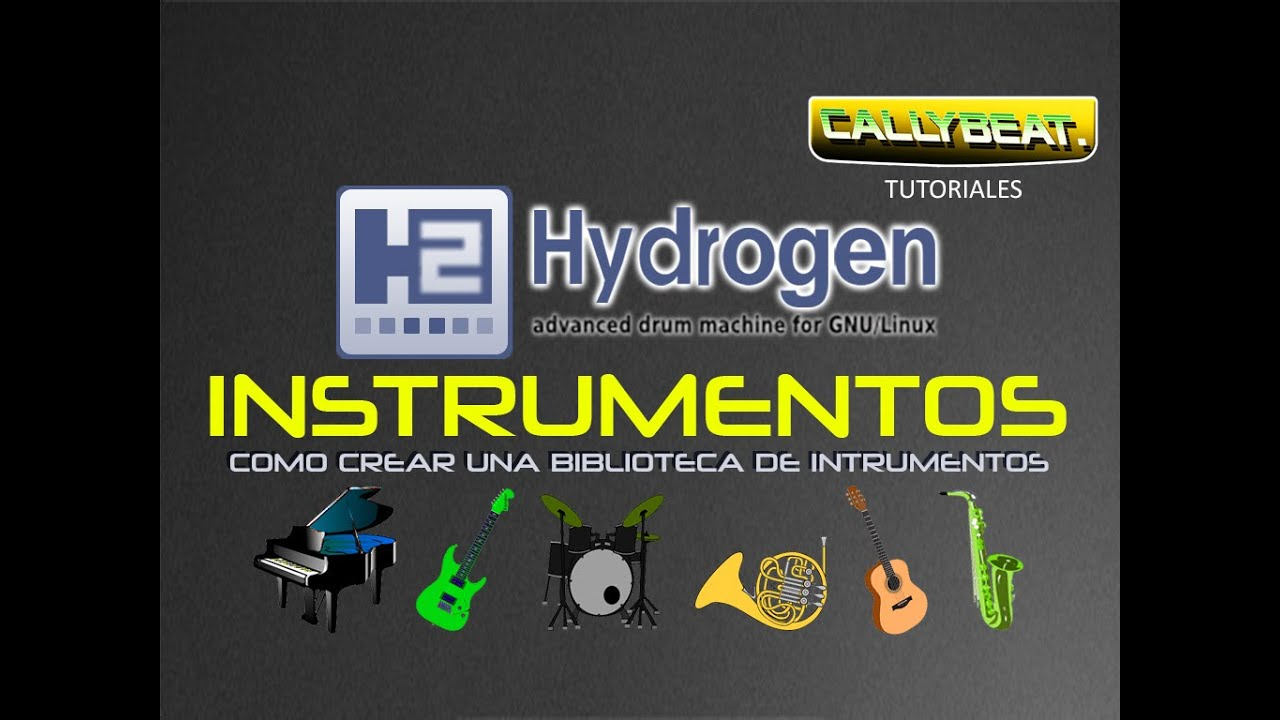 creando una bliblioteca de sonido en hydrogen sound packs youtube. Black Bedroom Furniture Sets. Home Design Ideas