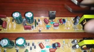 Ремонт електронного баласту люмінесцентних ламп 092B-J