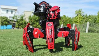 Toy Intelligent RC Battle Robot Space Armor Warriors Six-legged Spider Gifts