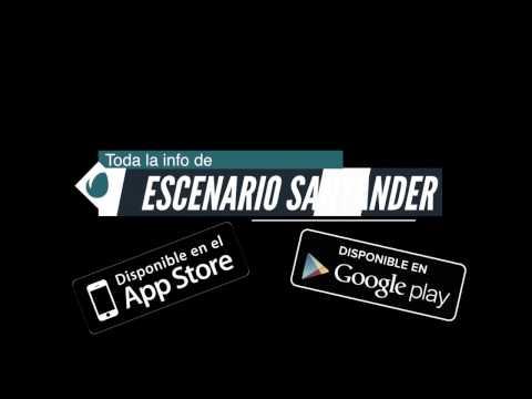 App Escenario Santander