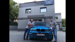 BMW X5 E53 V12 | Установка биксеноновых линз HELLA, HPL, Детейлинг