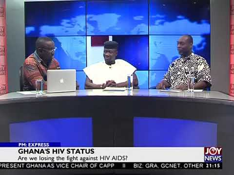 Ghana's HIV Status - PM Express on JoyNews (22-8-17)