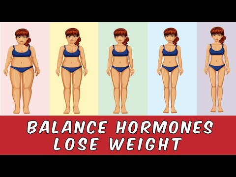 9 ways to balance hormones and lose weight