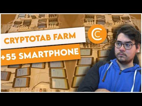 CryptoTab MINING FARM DA +55 SMARTPHONE - Quanto Si Guadagna E Come Funziona?