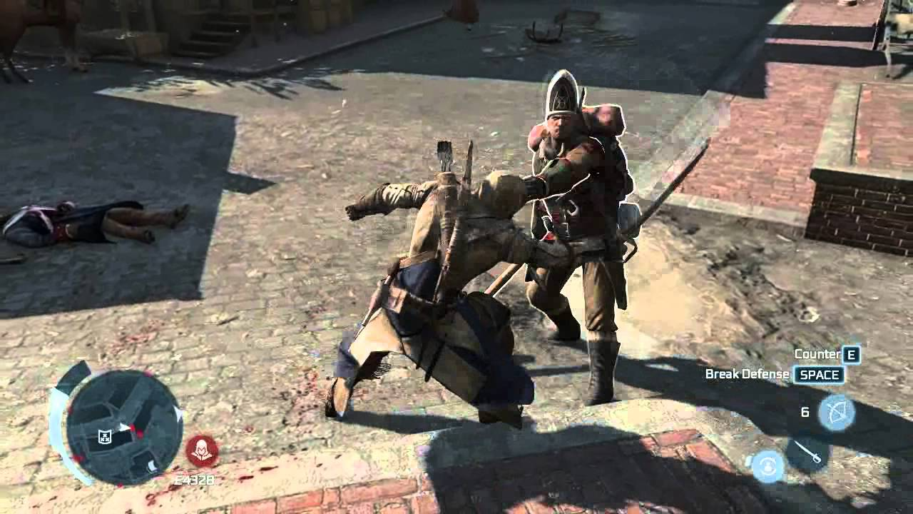 Assassin S Creed 3 Gameplay Youtube