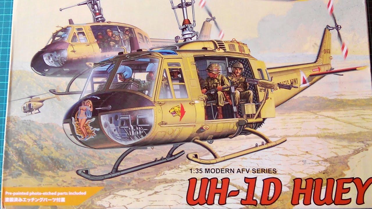 Inbox Review - Dragon Kit #3538, UH-1D Huey