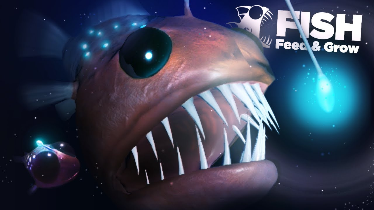 New angler fish unlocked feed and grow ep12 youtube for Fish eat and grow
