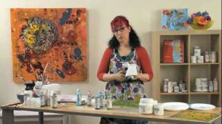 Preview | Rethinking Acrylic: Encaustic Effects with Acrylic Paint with Patti Brady