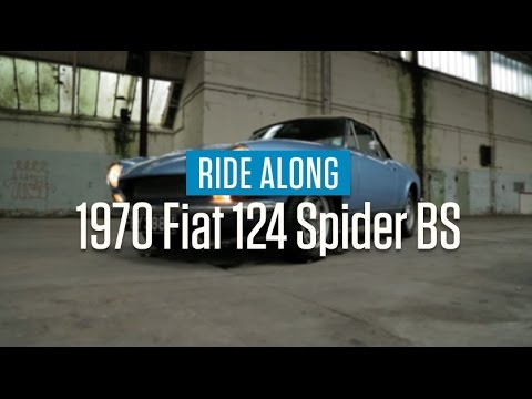 1970 Fiat 124 Spider BS | Ride Along
