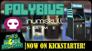Numskull Polybius Arcade USB Charging Station on Kickstarter!