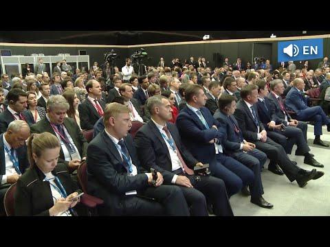 Speech by Alexey Miller at St. Petersburg International Economic Forum 2018