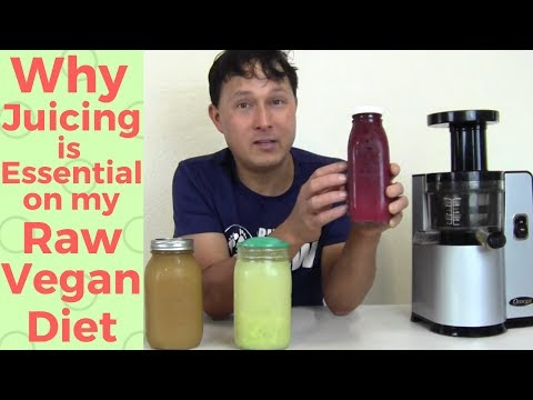 Why Juicing Is Essential on my Raw Vegan Diet