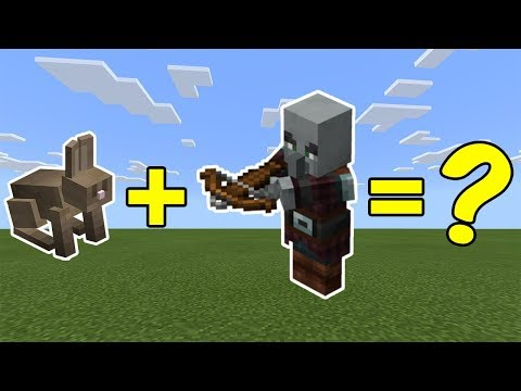 I Combined A Rabbit And A Pillager In Minecraft - Here's What Happened...