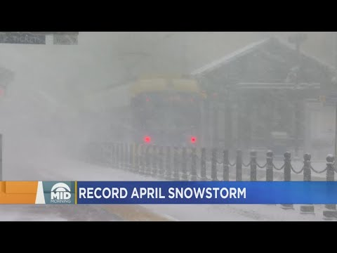 WCCO Mid-Morning Crew Discusses April Snowstorm That Broke Records