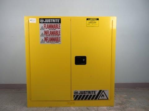 justrite-30-gallon-flammable-liquid-storage-cabinet