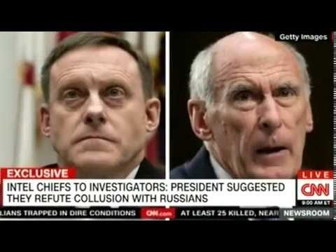 PRESIDENT SUGGESTED THEY REFUTE COLLUSION WITH RUSSIANS ON CNN Breaking News