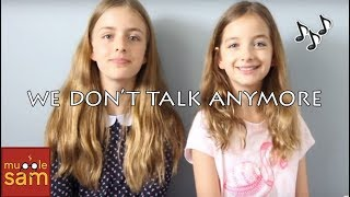 We Don't Talk Anymore - Charlie Puth Cover By Sophia & Bella ⚡️ Mugglesam thumbnail