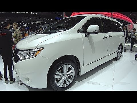 nissan quest 2018 exterior and interior walkaround new york auto show youtube. Black Bedroom Furniture Sets. Home Design Ideas