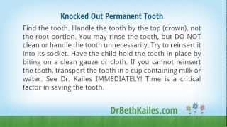 Pediatric Dental Emergency First Aid Tips