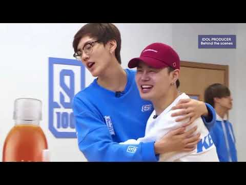 [ENGSUB] Idol Producer - The Orcs Team A&B Behind   Fooling around during practice