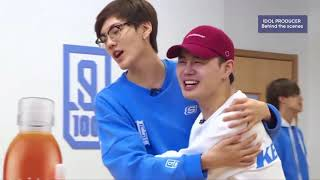 Engsub Idol Producer The Orcs Team A B Behind Fooling Around During Practice