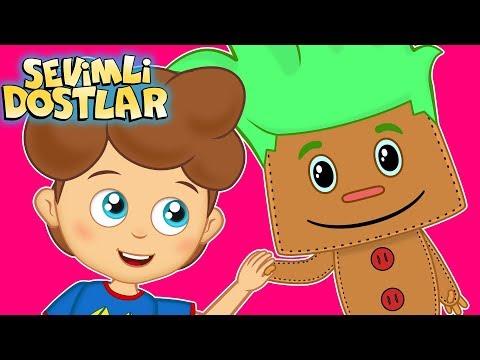 Pin Pon   Sevimli Dostlar ile Çizgi Film Bebek Şarkıları 2018   Adisebaba TV