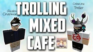 ROBLOX trolling na empresa Mixed Cafe