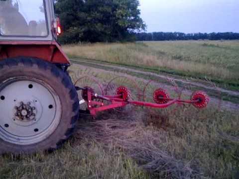 Польские грабли 4-х колесные