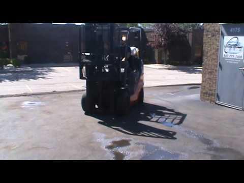 FORKLIFT FOR SALE #23348, 2012 Toyota 8FGCU25