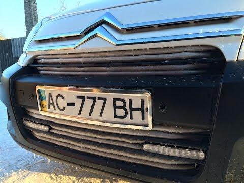 защита утеплитель решетки радиатора автомобиля
