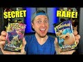 SECRET RARE OPENING in the NEW POKEMON CARDS SET TEAM UP! (prerelease)