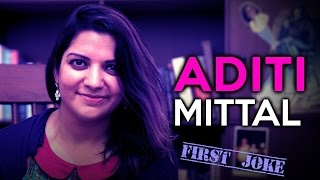 Aditi Mittal's First Joke || The MJ Show Season 2