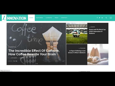 Innovation Wordpress Theme | Best Magazine Theme Wordpress | Blog Theme WordPress