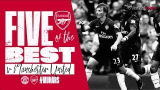 5 of the best goals   Manchester United v Arsenal