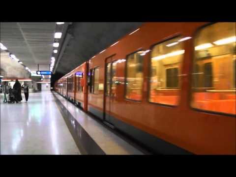 Kamppi mit/kanssa Helsingin metro (U-Bahn Helsinki)