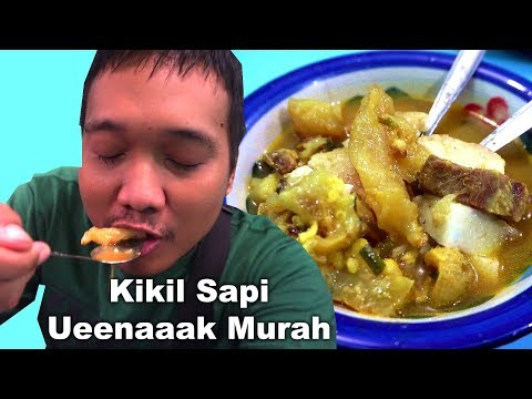 Kikil Sapi Paling Enak Murah di Surabaya Timur | Vlog #95