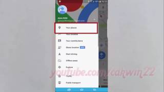 Samsung Galaxy S7 Edge : How to Delete Location history Range in Google Maps Free HD Video