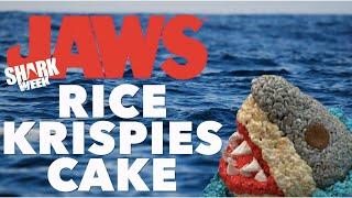 SHARK WEEK Jaws Cake!