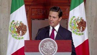 """URGENTE-Peña Nieto:""""México no pagará"""" por muro de Trump"""