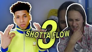 Mom reacts to SHOTTA FLOW 3 by NLE CHOPPA!