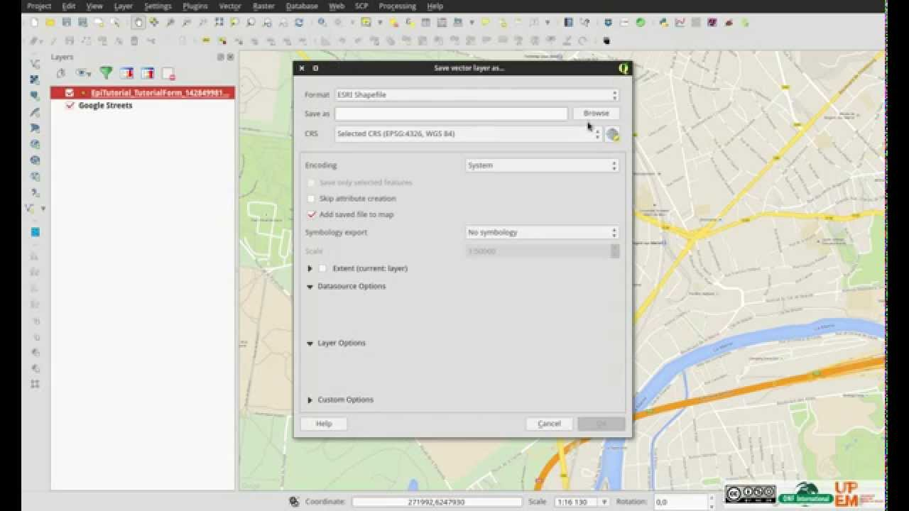 Tutorial - Qgis how to import and convert csv to vector file