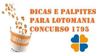 Baixar DICAS E PALPITES PARA LOTOMANIA CONCURSO 1795 RUMO AOS 20 PONTOS E BOA SORTE!!!