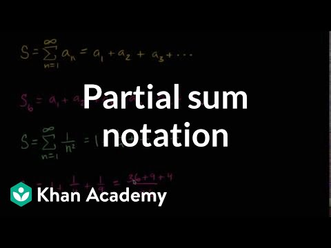 Partial sums intro | Series | AP Calculus BC | Khan Academy