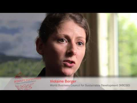BONN PERSPECTIVES: Interview with Violaine Berger, WBCSD