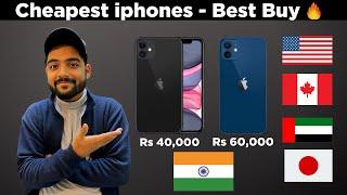 Cheapest iphones - Best country to buy | USA , DUBAI, HONGKONG , CANADA DUBAI , INDIA ?