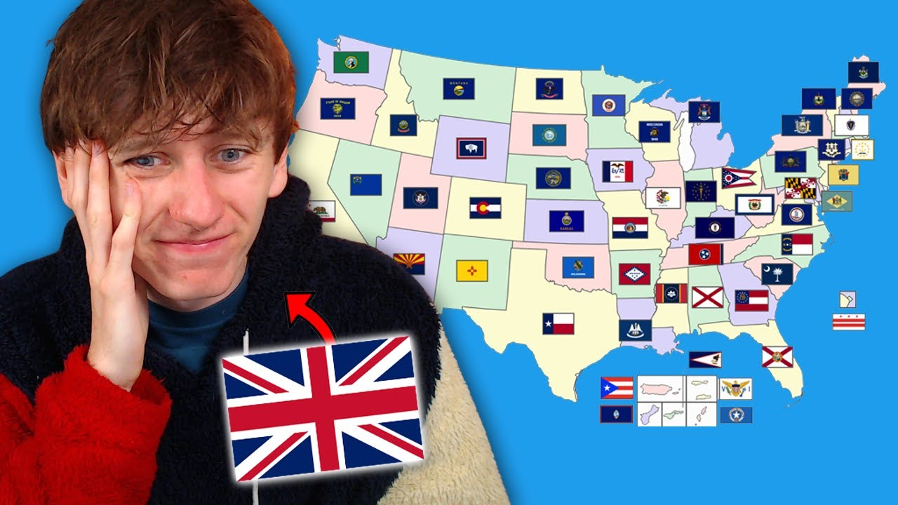 Can I name all 50 USA State Flags?
