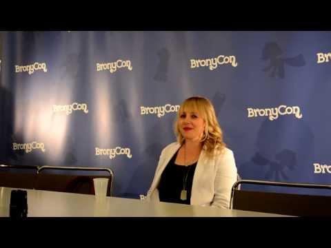 Bronycon 2014 - Andrea Libman Press Conference